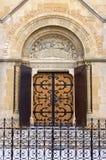 La Basilique du Sacre Coeur in Paray Le Monial Royalty-vrije Stock Foto's