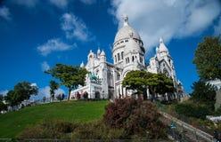 La Basilique du Sacré Cœur de Montmartre in Paris, Stock Images
