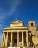 La basilique du saint, Saint-Marin photos libres de droits