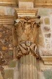 La basilique historique de Cuilapan, Oaxaca, Mexique Photo libre de droits