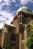 La basilique nationale de Bruxelles de Koekelberg Photographie stock libre de droits