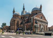 La basilique pontificale de St Anthony de Padoue Images libres de droits