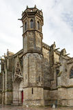 The Basilica of Saint-Nazaire in the city of Carcassonne - Aude (France) Stock Photography