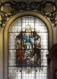 La basílica de Nuestra Senora de Los Ángeles (CR) Foto de archivo libre de regalías