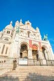 La basílica de Sacré-Coeur Imagenes de archivo