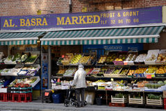 LA-BASRA MARKED Royalty Free Stock Photo