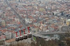 La Bastille Grenoble Royalty Free Stock Image