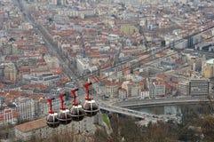 La Bastille Grenoble Royalty-vrije Stock Afbeelding