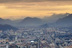 La Bastille Grenoble Stock Photos