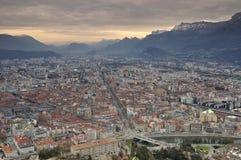 La Bastille Grenoble Stock Afbeeldingen