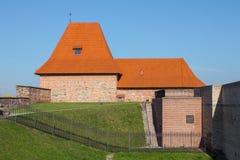 La bastion du mur défensif de Vilnius lithuania images libres de droits