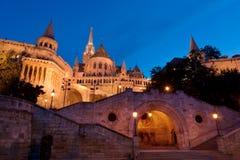 La bastion du pêcheur à Budapest Image libre de droits