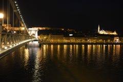 La bastion du pêcheur de la Hongrie Images libres de droits