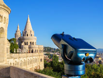 La bastion du pêcheur, ville de Budapest image libre de droits