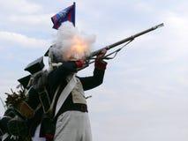 La bataille Photo libre de droits