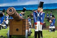 La batalla naval Imagen de archivo