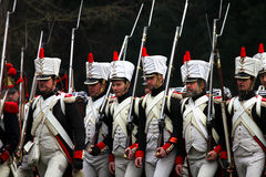 La battaglia di Austerlitz Fotografie Stock Libere da Diritti
