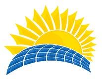 La batteria solare Immagini Stock