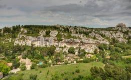 La Baux-de-Provenza - Alpilles - la Provenza - la Francia Fotografia Stock Libera da Diritti