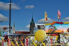La Bavière d'Oktoberfest Munich - vue de fond photographie stock