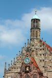 La Bavière de Frauenkirche Nürnberg.   image libre de droits