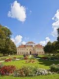 La Bavière, l'Allemagne - le palais de Lustheim et le jardin baroque Photos libres de droits