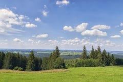 La Baviera del paesaggio Fotografia Stock