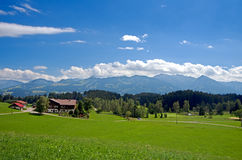 La Baviera di Allgau Fotografia Stock