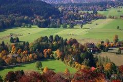 La Baviera di autunno Fotografia Stock
