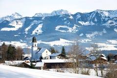 La Baviera di inverno Immagini Stock