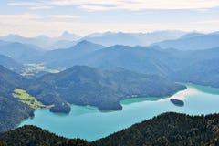 La Baviera, Germania Fotografie Stock Libere da Diritti