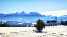 La Baviera - wilparting Immagine Stock