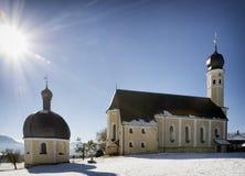 La Baviera - wilparting Fotografie Stock Libere da Diritti
