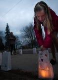 Monumento de Melissa Jenkins Fotos de archivo libres de regalías