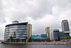 La BBC de quais de Salford Image stock