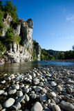 La Beaume, france. River in La Beaume, france Royalty Free Stock Photo