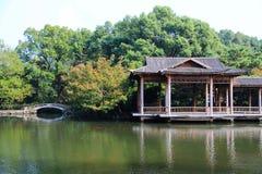 La beauté d'automne de Xihu, lac occidental Image stock