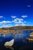 La beauté d'automne du plateau du Qinghai Thibet Photo libre de droits