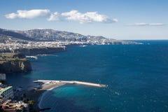 La beauté de la côte d'Amalfi Image stock