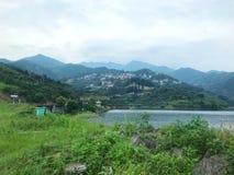 La beauté de ce lac images libres de droits