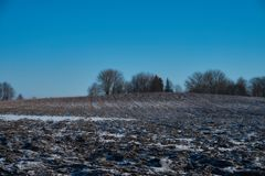 La beauté de l'hiver images stock