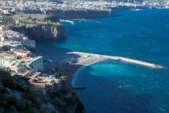 La beauté de la côte d'Amalfi Photographie stock