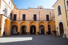 La beauté de la côte d'Amalfi Photos libres de droits