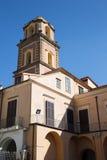 La beauté de la côte d'Amalfi Images libres de droits