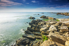 La beauté de la côte de Chine du Nord images stock