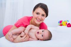 La beauté de la condition parentale image libre de droits