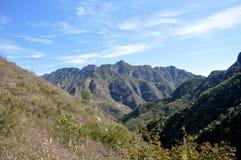 La beauté de la montagne Images libres de droits
