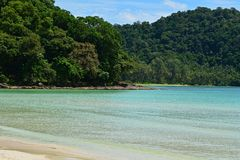 La beauté de la mer de la Thaïlande Photo libre de droits