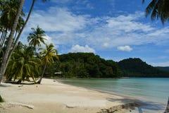 La beauté de la plage en Thaïlande Images libres de droits