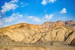 La beauté des montagnes de la péninsule du Sinaï en Egypte images libres de droits